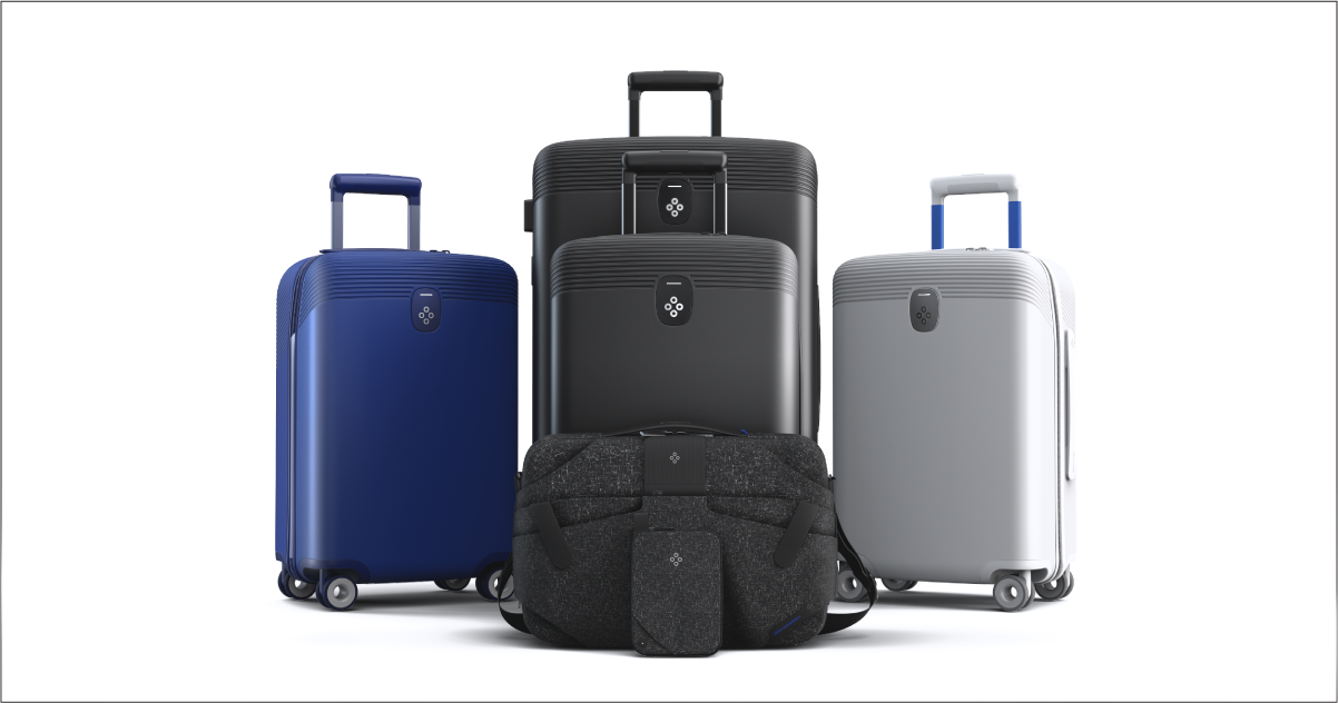 Smart phone, Smart luggage, Smart travel